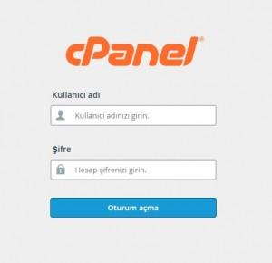 C Panel mail kurulumu